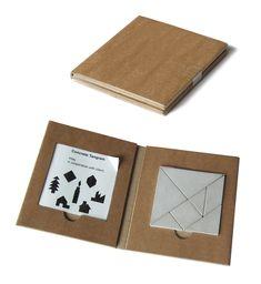 Concrete puzzle: Tangram