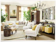 Chadwick Living Room  I  ballarddesigns.com