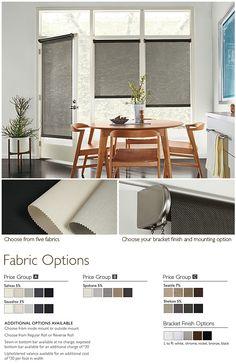 Shades: Solar - Shades: Solar - Custom Window Treatments - Custom - Room & Board
