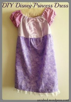 Guest Blog: DIY Disney Princess Dress with Tutorial