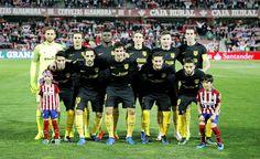 Equipos de fútbol: ATLÉTICO DE MADRID contra Granada 11/03/2017