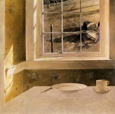 "Andrew Wyeth, ""Groundhog Day"", 1959"