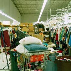 Shopping at thrift stores is usually an inexpensive way to find items to resell at a vintage or antique store. While some thrift store donations are not worth much, you may find genuine antique ... Thrift Store Donations, Thrift Store Shopping, Thrift Store Crafts, Thrift Store Finds, Shopping Hacks, Thrift Stores, Resale Store, Shopping Shopping, Store Hacks