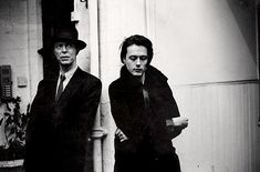 Brett Anderson and David Bowie