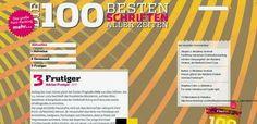 Syentium   -   Web Creatores : As 100 melhores FONTS - Uma selecção profissonal