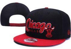 RSS Product Feed    Wholesale - Chicago Bulls Snapback Black Crimson  Hats Caps New Era Sale 16c440c13449