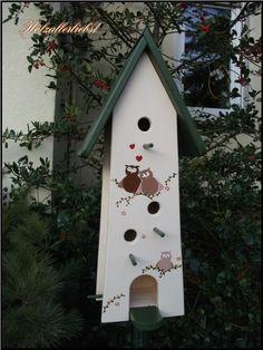 Hand painted bird house
