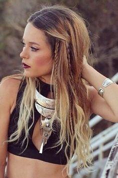 Boho-Looks für die Festival Saison auf www.gofeminin.de #hippie #braid #coachella
