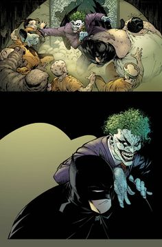 The Joker and Batman by Greg Capullo