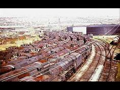 BARRY SCRAPYARD - THE YEARS OF STEAM GO BY! Abandoned Train, Abandoned Cars, Abandoned Places, Abandoned Vehicles, Live Steam Locomotive, Diesel Locomotive, Steam Trains Uk, Railroad Pictures, Railroad History
