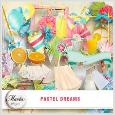 Pastel Dreams :: Full & Mini Kits :: Memory Scraps