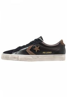 03cd8609 Converse. PRO LEATHER VULC OX SUEDE/LEATHER DISTRESSED - Sneakers basse -  black/