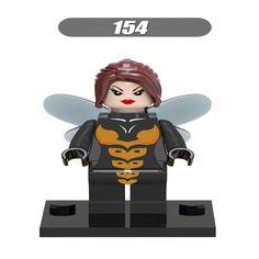 20Pcs Super Heroes Yellow Jacket Woman Captain America Iron Man Bricks Action Building Blocks Education Toys for children XH 154 #Affiliate