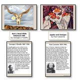 The Famous Paintings Set 2 is a collection that will introduce masterpieces of art to your students. Each painting has...