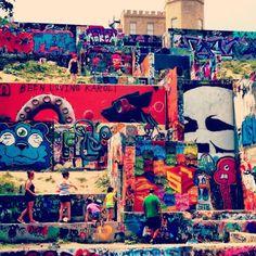 Graffiti Park Austin, TX