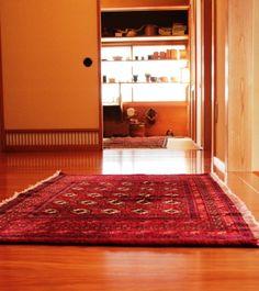 Nomadic Turkman Carpet wool on Cotton