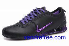 reputable site 5d2fa 881ad Vendre pas cher Femme Nike Shox R3 Chaussures (couleur vamp-noir sole