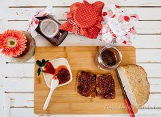 Mermelada casera de fresas & etiquetas imprimibles