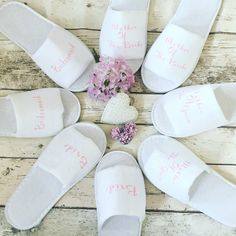 A personal favourite from my Etsy shop https://www.etsy.com/uk/listing/477246179/bridal-slippers-bride-slippers