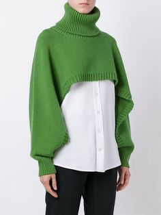 Knitwear Fashion, Knit Fashion, Jumpers For Women, Sweaters For Women, Fashion Details, Fashion Design, Fashion Trends, Knitting Accessories, Knitting Designs