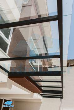 cobertura de vidro, pergolado, teto de vidro