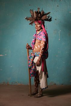"Diego Huerta documents the dazzling indigenous cultures of Mexico in his series, ""Native Nations."""