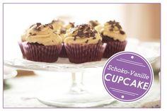Schoko-Vanille-Cupcakes