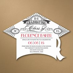 Deco Grad - Graduation Invitation