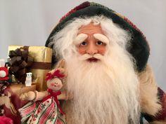 Country Santa by DianesHeirloomSantas on Etsy