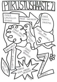 Piirustushaaste 2: kotiin halukkaille, lisätyöksi tunnille, tuntien alkuun piirustustyöksi...: Drawing Challenge, Art Challenge, School Lessons, Art Lessons, 4th Grade Art, Classroom Crafts, Arts Ed, Too Cool For School, Teaching Materials