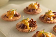 Get the second quarter of your Big Game party underway with tasty RITZ BBQ Pulled Chicken Toppers.
