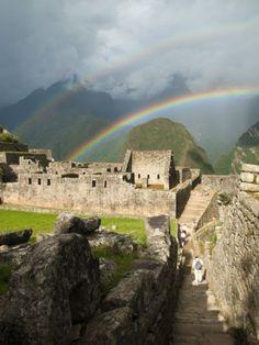Incan Ruins of Machu Picchu - Peru / If I get to go here I will cry....