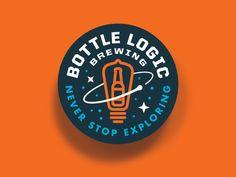 Bottle Logic - 2016 Week of Logic - Meatball Logo