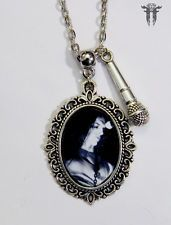 Heavy Metal Bass Player Peter Steele Cameo Necklace Carnivore Type O Negative