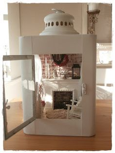 Shabby Dollhouse: Sorry. Miniature Rooms, Miniature Fairy Gardens, Miniature Houses, Miniature Furniture, Fairy Lanterns, Christmas Lanterns, Christmas Décor, Holiday, Lantern Crafts