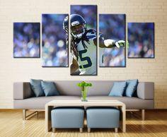 American Football Player - 5 piece Canvas