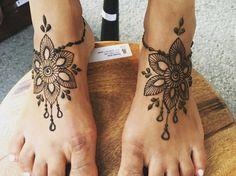 Henna Tattoo Montreal : Henna tattoo by mansi hennas