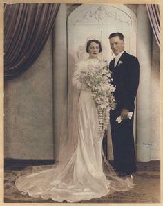 1930′s newlyweds Ernestine and Lloyd