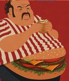 You Are What You Eat 30 Awesome Satirical Illustrations That Capture The Flaws Of Our Society • Page 4 of 5 • BoredBug