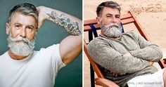 This 60-year-old man grew an amazing beard and became a model