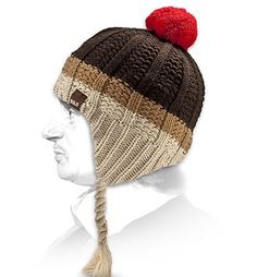 bonnet peruvian rayé