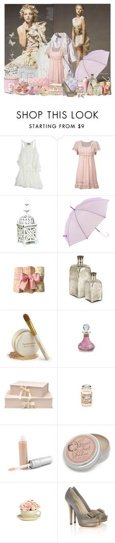 """Spring Showers bring May Flowers"" by lisamay7 ❤ liked on Polyvore featuring Acne Studios, Chanel, GreenGate, Cotton Candy, Zara, Bare Escentuals, Laura Ashley, Nina Campbell, House of Fraser and T. LeClerc"
