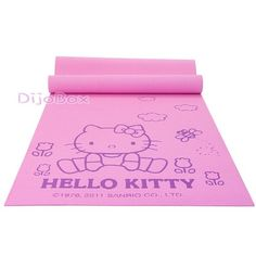 Sanrio HelloKitty Yoga Workout Exercise Fitness Mat Pad for Wii Fit 61x170cm | eBay