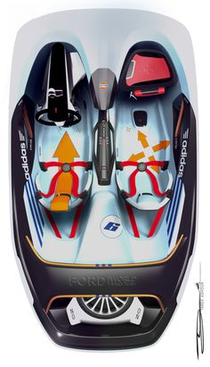Sketches we like / Coloring / Transportational / Digital Sketch / Ford RS WRC on Behance