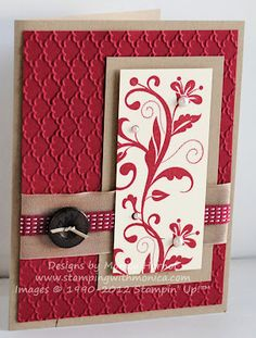 Flowering Flourishes with Stampin' Up!