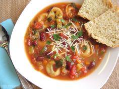 tortellini soup...