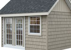 shake shingle cottage | Vinyl shake siding is a popular choice as it can be used together with ...