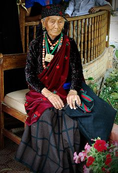 Old Gurung lady, Nepal