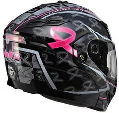 GMAX GM54S SPC Ribbon Rider Modular snowmobile helmet. Available in black/pink in sizes XS, S, M, L and XL. Your price $206.95. With free shipping!