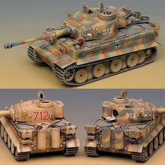 Plastic Hobby Model Kit GERMAN Heavy Tank TIGER-I EARLY VERSION 1/35 Academy #Academy